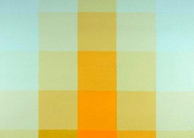 Sans titre 1969 Huile sur toile 142 x 142 cm