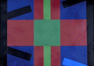 Sans titre, 1978 Huile sur toile 50 x 50 cm