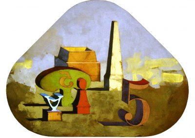 Sans titre, 1968 Huile sur toile 116,5 x 154,5 cm