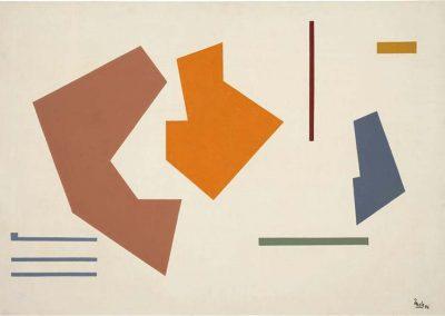 Sans titre, 1947 Huile sur toile 81 x 56 cm