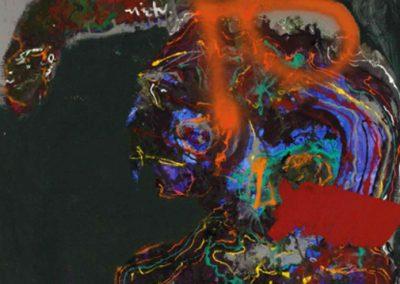 Sans titre, 1966 Huile sur toile 116 x 89 cm