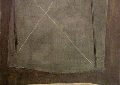 Sans titre, 1994 Technique mixte 94 x 70 cm