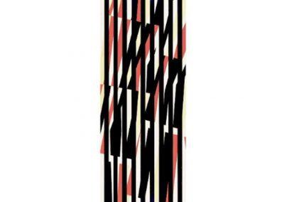Sans titre, 1957 Technique mixte 170 x 43 cm