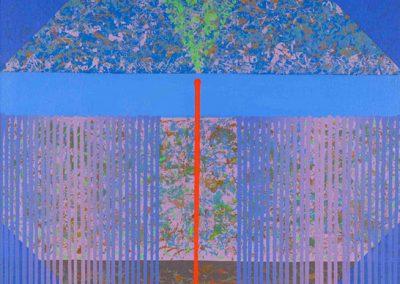 Sans titre, 1994 Acrylique sur toile 100 x 100 cm