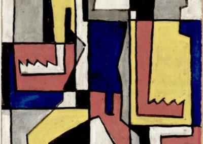 Sans titre, 1933 Huile sur carton 100 x 85 cm