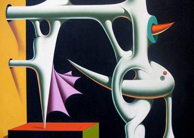 Sans titre, 1976 Huile sur toile 81 x 65 cm