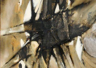 Se donner, 1958 Huile sur toile 102 x 81 cm