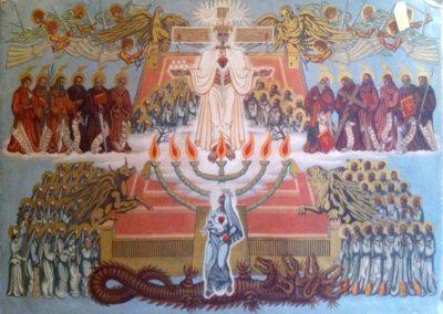 Série religieuse 2, 1943 Huile sur toile 140 x 210 cm