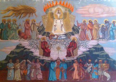 Série religieuse, 1943 Huile sur toile 140 x 210 cm