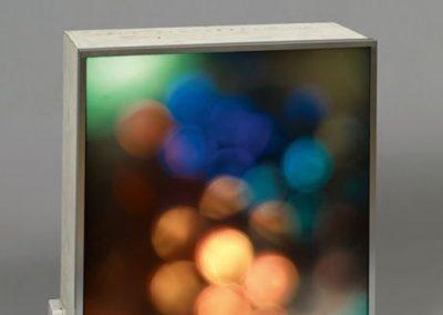 Spirales polychromes, 1963 Bois peint 53 x 47 x 20 cm