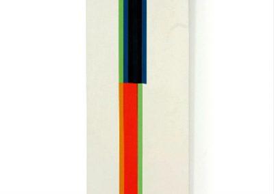 Tablon n°58, 1975 Technique mixte 200 x 55 cm