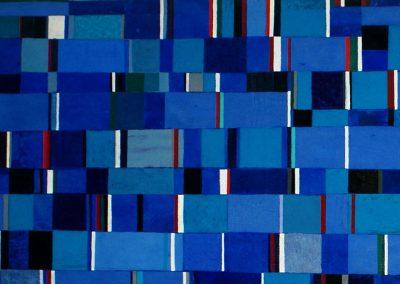 Tissu d'Afrique, 2008 Technique mixte 90 x 180 cm