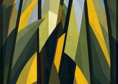Vallombrosa, 1916 Huile sur toile 33 x 24 cm