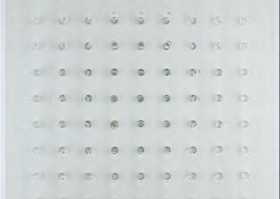 Yeux de reflets, 1963 installation 70 x 70 cm