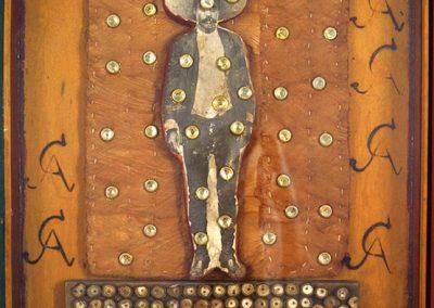 Zapata, 1972 Technique mixte 146 x 114 cm