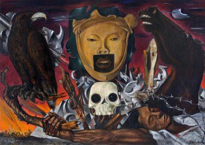 Síntesis 1939 huile sur toile 100 x 140 cm